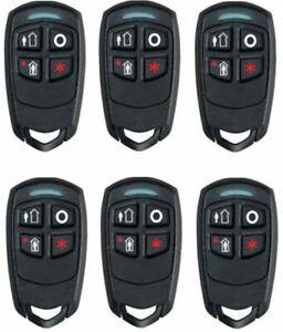 6 Pcs Honeywell Ademco 5834-4 Four-Button Wireless Key Remotes, GUARANTEED
