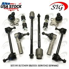 10Pc JPN Sway Bar Link Suspension Ball Joint Tie Rods For Chevy Impala 2004-2013
