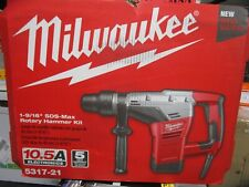 Milwaukee 105a Corded 1 916 Sds Max Rotary Hammer Kit 5317 21 Brand New