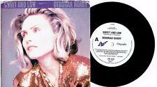 """DEBORAH HARRY - SWEET AND LOW - 7"""" 45 VINYL RECORD w PICT SLV - 1989"""