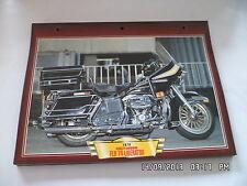CARTE FICHE MOTO 1978 HARLEY DAVIDSON FLH 74 LIBERATOR