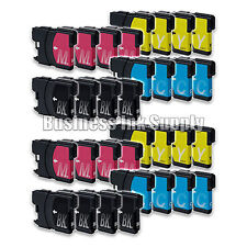 32PK New LC61 Ink Cartridge for Brother MFC-495CW MFC-J410W MFC-295CN LC61 LC-61