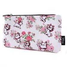Loungefly Disney Aristocats Marie Floral Cartoon Cat AOP Pencil Case WDCB0406