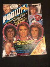[10747-M28] Magazine Podium -  Dave, Claude François, Sardou, Sheila...