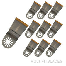 "10 X 1-3/4"" Titanium Bi-Metal Universal Saw Blade-Makita, Millwaukee Multi-Tool"