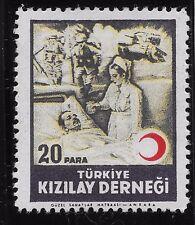 "Turkey 1947 20a AID FOR THE WOUNDED inscription ""TURKIYE KIZILAY CEMIYETI (BX1)"
