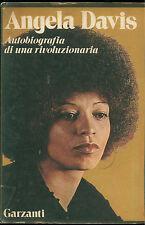 DAVIS ANGELA AUTOBIOGRAFIA DI UNA RIVOLUZIONARIA GARZANTI 1975 I° EDIZ.