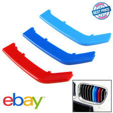 3x 3 Series For BMW F30 M-Colored Grille Grill Insert Cover Trims 2013-2017 HW