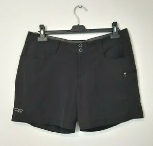 Outdoor Research Womens Size 12 Black Hiking Shorts