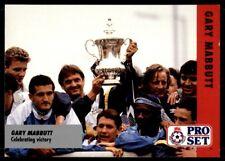 Pro Set Fußball Fixtures 1991-1992 Tottenham Hotspur Garry Mabbutt #20