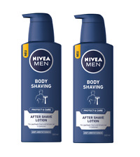 2xPack NIVEA Men PROTECT & CARE BODY AFTER SHAVE LOTION -  480 ml *GERMANY*