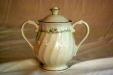 Syracuse Sweetheart Silhouette Line Covered Sugar Bowl