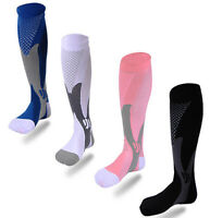 New Unisex Leg Support Stretch Running Fitness Anti Fatigue Compression Socks