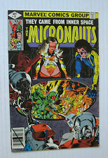Micronauts #14 (Marvel 2/80) VF+  Michael Golden-a.