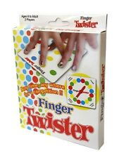 Finger Twister Portable Travel Party Board Game Icebreaker for Friends & Family