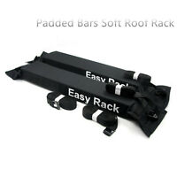 Universal Padded Bars Soft Car Roof Rack kayak surfboard Luggage Carrier