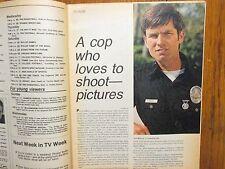 Oct-1974 Chicago Tribune TV Week Mag(KENT McCORD/ADAM-12/BORN FREE/DIANA MULDAUR