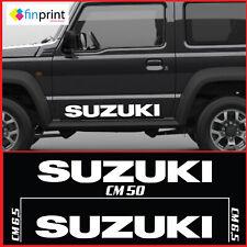 Kit adesivi stickers fuoristrada SUZUKI 4x4 per Santana Vitara Samurai off road.