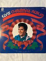 """ELVIS-Christmas Album- 12"""" Vinyl Record LP - EX"""