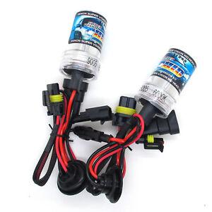H4 35W AC HID Xenon Bulbs High Beam Headlight 1 Pair