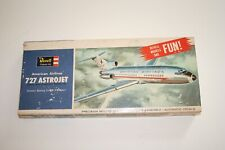 Plastic model aircraft: Vintage 1964 1/144 American Airlines 727-100 by Revell