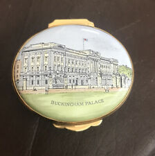 "New ListingCrummles & Co Enamel Trinket Box- ""Buckingham Palace"" 1989 Honor Council London"