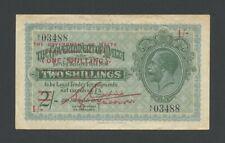 More details for malta  1 sh 1940 ovpt kgv  krause 15  banknotes