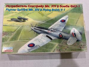 1/72 Eastern Express Spitfire And V1 Combo Set