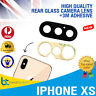 iPhone XS Back Camera Lens Rear Glass Glass Replacement With 3M Adhesive NEW
