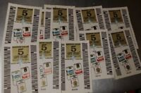 Gift Stars Coupon Value 5 . Old Gold Spring Minn Cigarettes vtg. 40 pieces lot