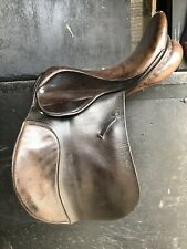 "Ideal Havana GP Saddle 17/17.5"" Narrow Fit"