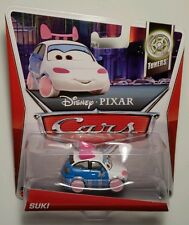 Disney Pixar Cars 2 • Suki Japanese Girl on Bridge • 2013 Tuners Cardback