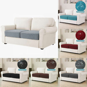 1/2/3/4 Seater Sofa Seat Covers Elastic Slipcover Cushion Settee Protector AUS