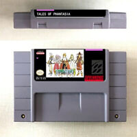 Tales Of Phantasia Game Card Console For Nintendo SNES US Version 16 Bit English