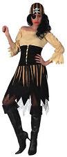 Piratin Kostüm XL XXL Kleid + Ohrring + Augenklappe + Bandana Pirat Fasching