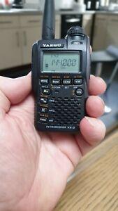 Yaesu vx-3e dual band radio scanner transceiver.