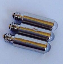 3 X Led Bombilla, Otoscopio, Laringoscopios
