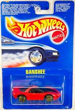 Hot Wheels Pontiac Banshee, guh Gold Ultra Hot Wheels, International Card - RARE