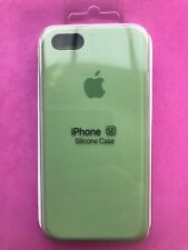 Apple iPhone 5 5S SE Silicon Case New Apple Slim Genuine Cover Mint Green UK