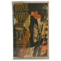 Ronnie Wood Cassette Slide on Live: Plugged in and Standing New Sealed Cassette