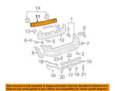 TOYOTA OEM 03-08 Matrix Rear Bumper-Reinforcement 5202302090