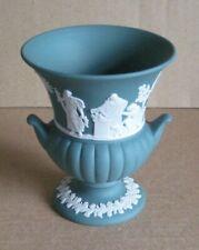 Wedgwood Jasperware Teal Urn