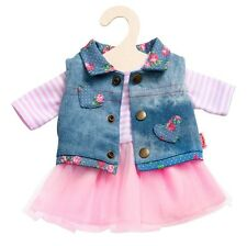 Heless Doll clothes, Tulle dress with Jeans este for 35 - 45 cm Dolls