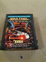 Star Trek by Sega for ATARI 2600 ▪︎ CARTRIDGE ▪︎ FREE SHIPPING ▪︎