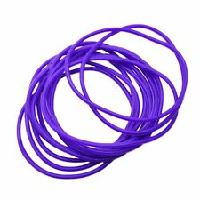 Gummy Shag Bands  90's Retro Pack of 12 Purple