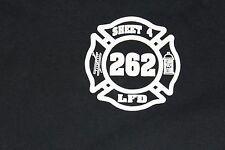 "XL FDNY SHEET LFD 262 NY161 ""Protect and Serve"" shirt"