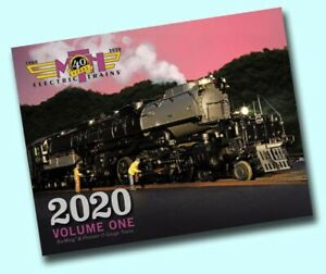 MTH 2020 VOLUME 1 TRAIN CATALOG toy o gauge lionel standard dealer book vol NEW