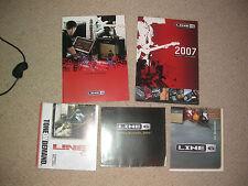 4 X 6 amperios & Guitarras catálogos LINE coleccionista personalizado Studio Pantalla habitación Man