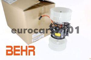 New! BMW M5 Behr Hella Service HVAC Blower Motor 351040651 64116933910