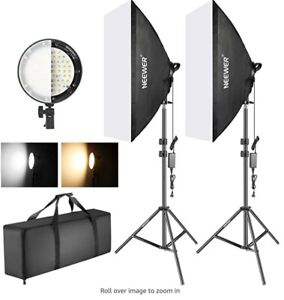 Neewer 10094267 LED Softbox Lighting Kit